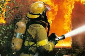 bombeiro em ação