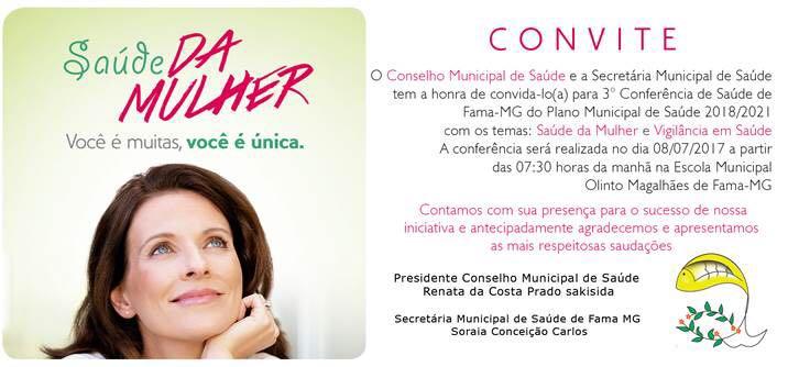 Convite ao evento